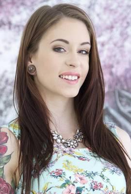 Porn star Anna De Ville Photo