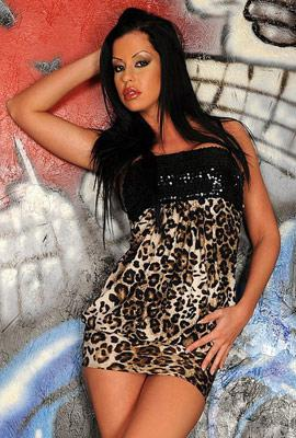Porn star Larissa Dee Photo