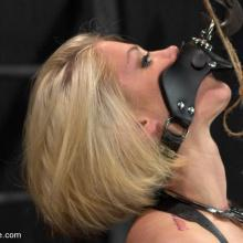 Ash Hollywood gets tied and dominated in device Bondage