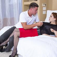 Allison Moore having steamy anal Sex