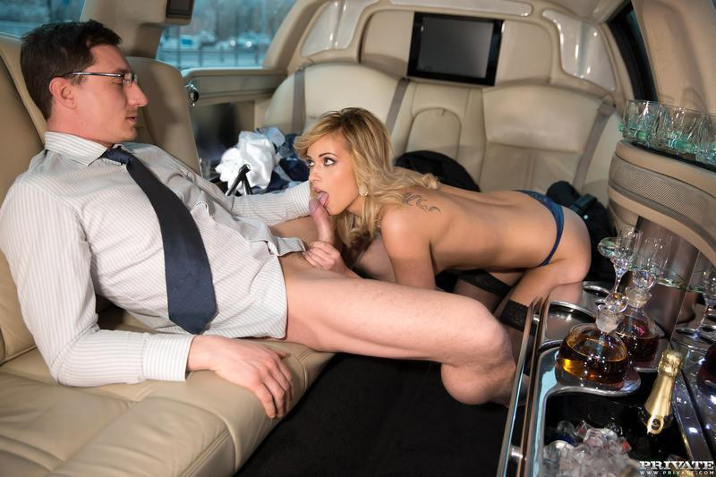 Limo sex party