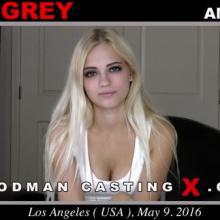 Alex Grey first porn audition by Pierre Woodman