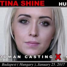 Christina Shine first porn audition by Pierre Woodman