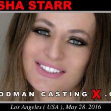 Natasha Starr first porn audition by Pierre Woodman