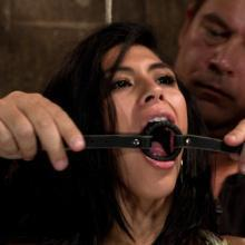 Bound Heather Vahn helpless for the first time in her life