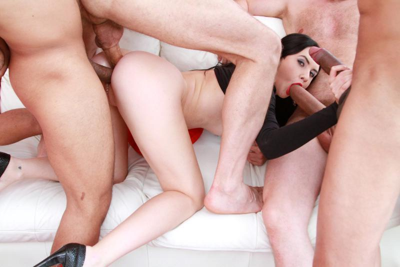Adorable From Crystal Greenvelle Triple Anal Sex Images 1