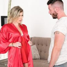 Insatiable Milf Cory Chase scores a young Cock