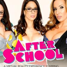 Virtual reality scene with Eva Long, Ariella Ferrera and Richelle Ryan