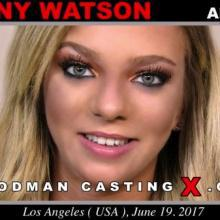 Tiffany Watson first porn audition by Pierre Woodman
