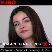 Lara Duro first porn audition by Pierre Woodman