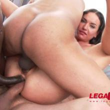 Legal Porno scene with Nataly Gold