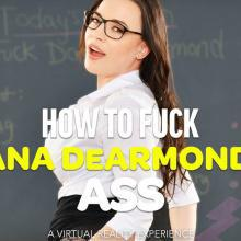 Dana DeArmond has her tight Ass rammed