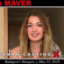 Misha Maver first porn audition by Pierre Woodman