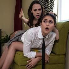 Ariana Marie and Chanel Preston fucking each other
