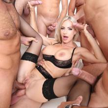 Group scene with Nataly Cherie