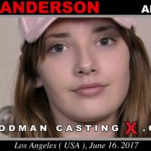 Lena Anderson first porn audition by Pierre Woodman