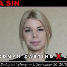 Olivia Sin first adult audition by Pierre Woodman