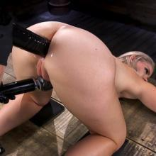 BDSM scene with Lisey Sweet