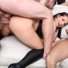 Double Anal Gangbang with Jolee Love