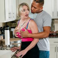 Milf secretary Holly Halston masturbate and gets deep fuck in her butthole scene with Dee Williams