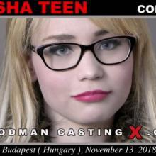Natasha Teen first porn audition by Pierre Woodman