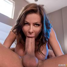 Richelle Ryan takes a monster Cock from behind hard scene with Alexis Fawx