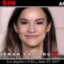 Eden Sin first porn audition by Pierre Woodman