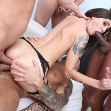 Group scene with Kacie Castle