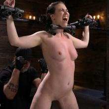 The Destruction of bondage girl Casey Calvert