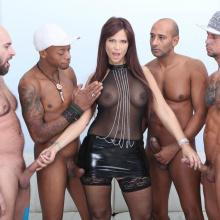 Hot Syren De Mer gets her Ass TRIPLE ANAL penetrated