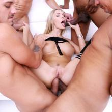 Florane Russell assfucked and DOUBLE ANAL penetrated