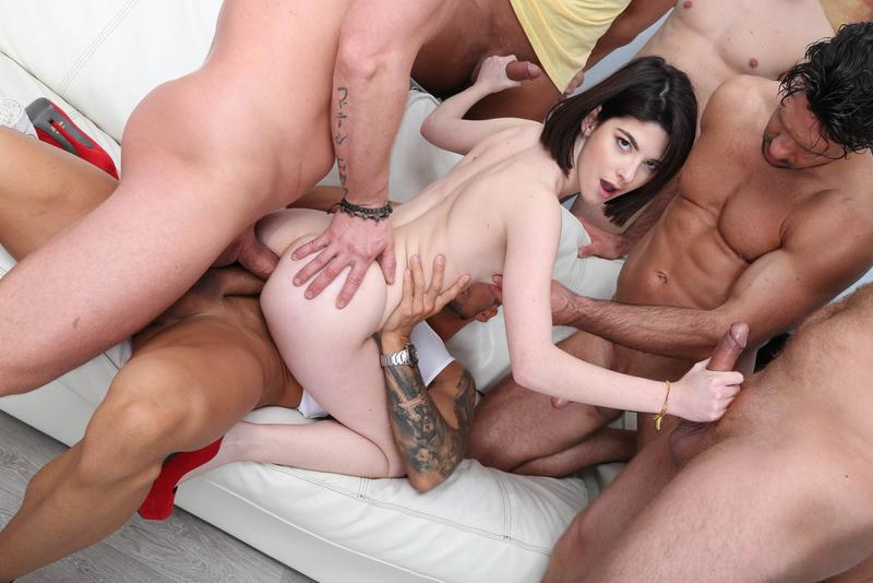 Avi Love Has A Hard Double Anal And Triple Penetration