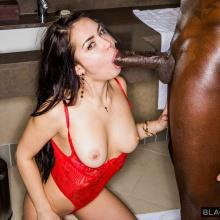 Alina Lopez likes taking a massive black Cock