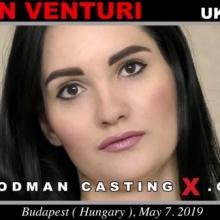 Megan Venturi first porn audition by Pierre Woodman