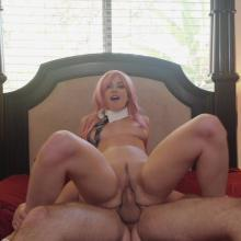 Alex Coal spreads juicy Snatch for hard Cock