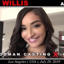 Emily Willis first porn audition by Pierre Woodman