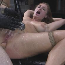 Skylar Snow gets her ass flogged and fucked