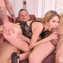Rebecca Volpetti - DDF - Ass to mouth, Double penetration