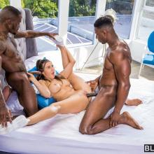 Ella Reese - Blacked - Interracial threesome fuck
