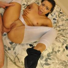Adriana Maya - Lets Try Anal - Anal first time