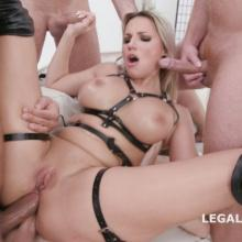 Jolee Love - Legal Porno - TRIPLE ANAL penetrated at Gangbang orgy