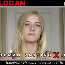 Aria Logan - Woodman Casting X - First porn audition by Pierre Woodman