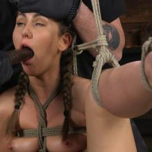 Paige Owens - Hogtied - Kink - Corporal Punishment