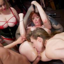 Aiden Starr & Ashley Lane & Lauren Phillips - The Upper Floor
