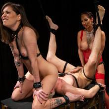 Isis Love & Kacie Castle - Kink - Corporal Punishment