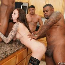 Kendra Cole - Cuckold Sessions - Interracial group sex