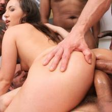 Kristy Black Double Anal with 0% Pussy fucking