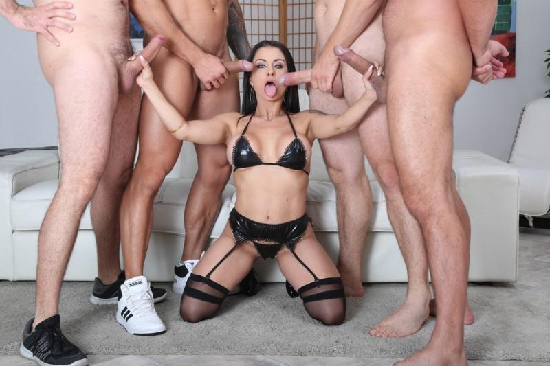 Ashley blue creampie orgy