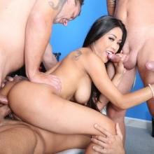 Polly Pons Double Anal, Gapes and Facial