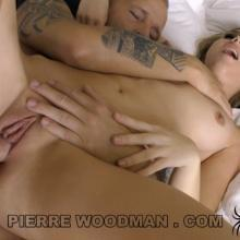 Oxana Chic first Double Penetration - WoodmanCastingX